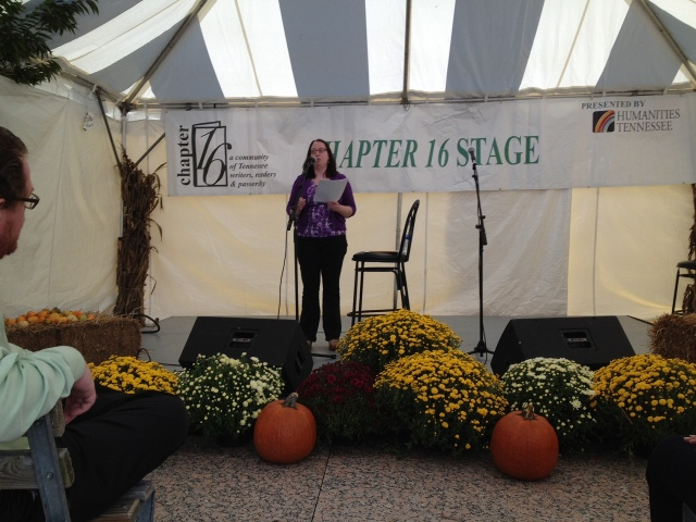 2012 Southern Festival Of Books Chapter 16 Stage Reading